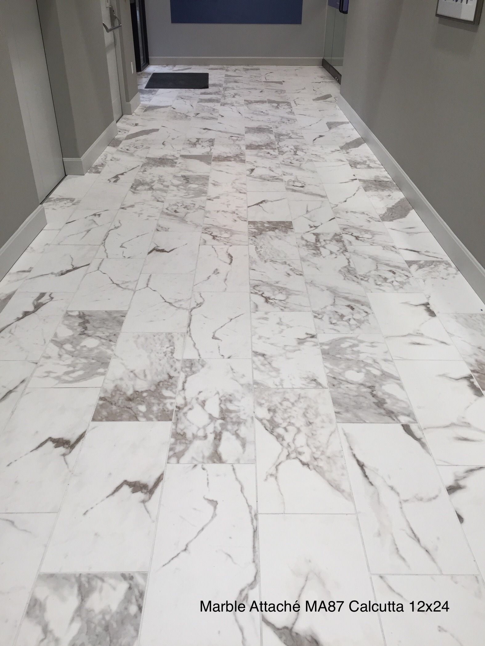 Daltile Marble Attach 233 In 2019 Marble Tiles Tile Floor