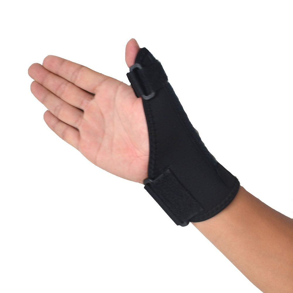Leftright elastic palm glove hand support brace guard