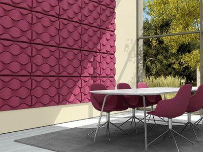 panneau acoustique mural soundwave flo offecct acoustic design panneaux acoustiques. Black Bedroom Furniture Sets. Home Design Ideas