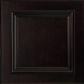 Shenandoah Orchard 14.5625-In X 14.5-In Espresso Maple Raised Panel Cabinet Sample