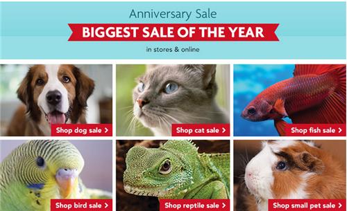 PetSmart Anniversary Sale Blue Buffalo, Advantix, 20 OFF