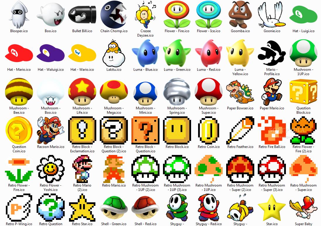 Super Mario Icons Screenshots Super Mario Tattoo Mario Tattoo Super Mario Art