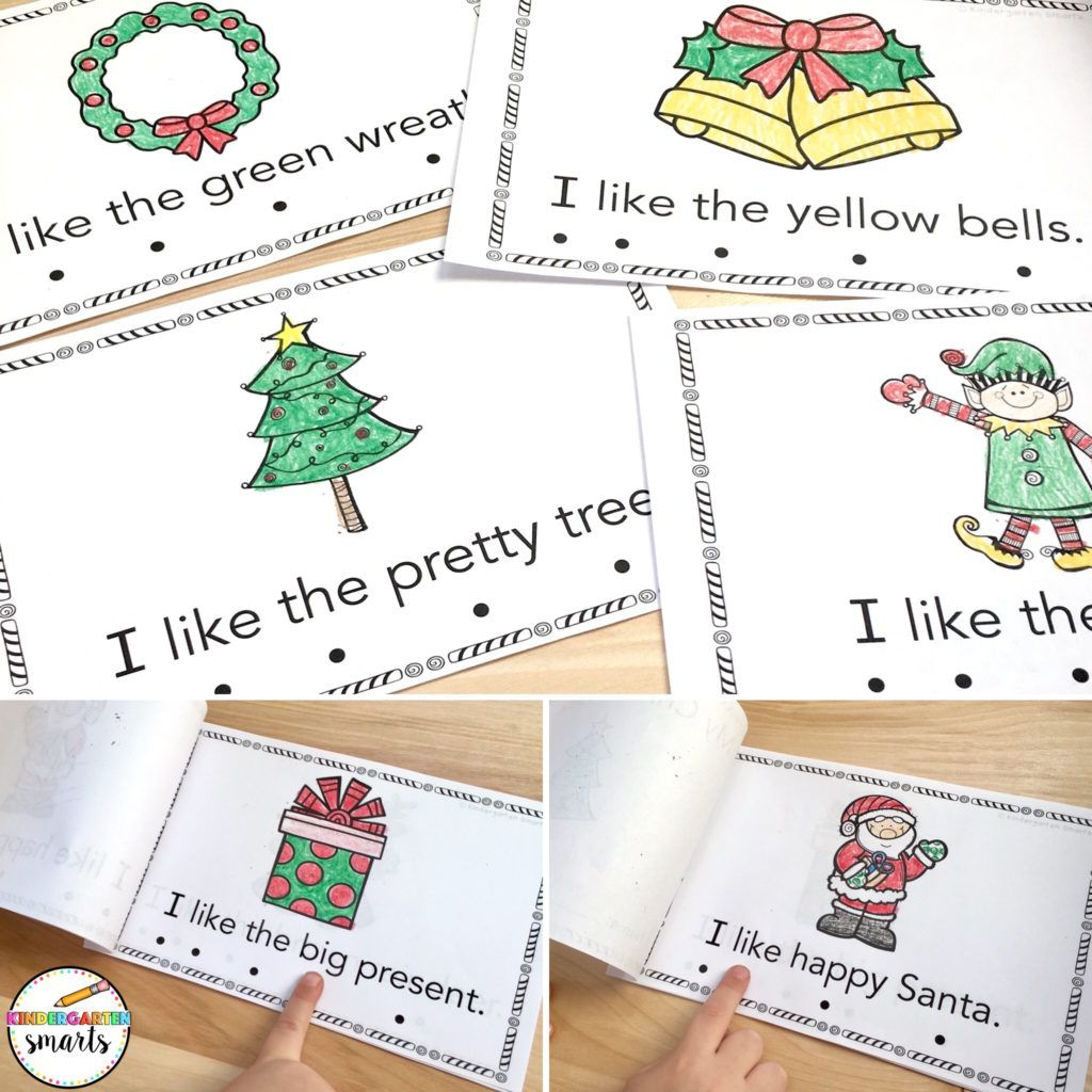 Christmas Sight Word Book With A Freebie With Images