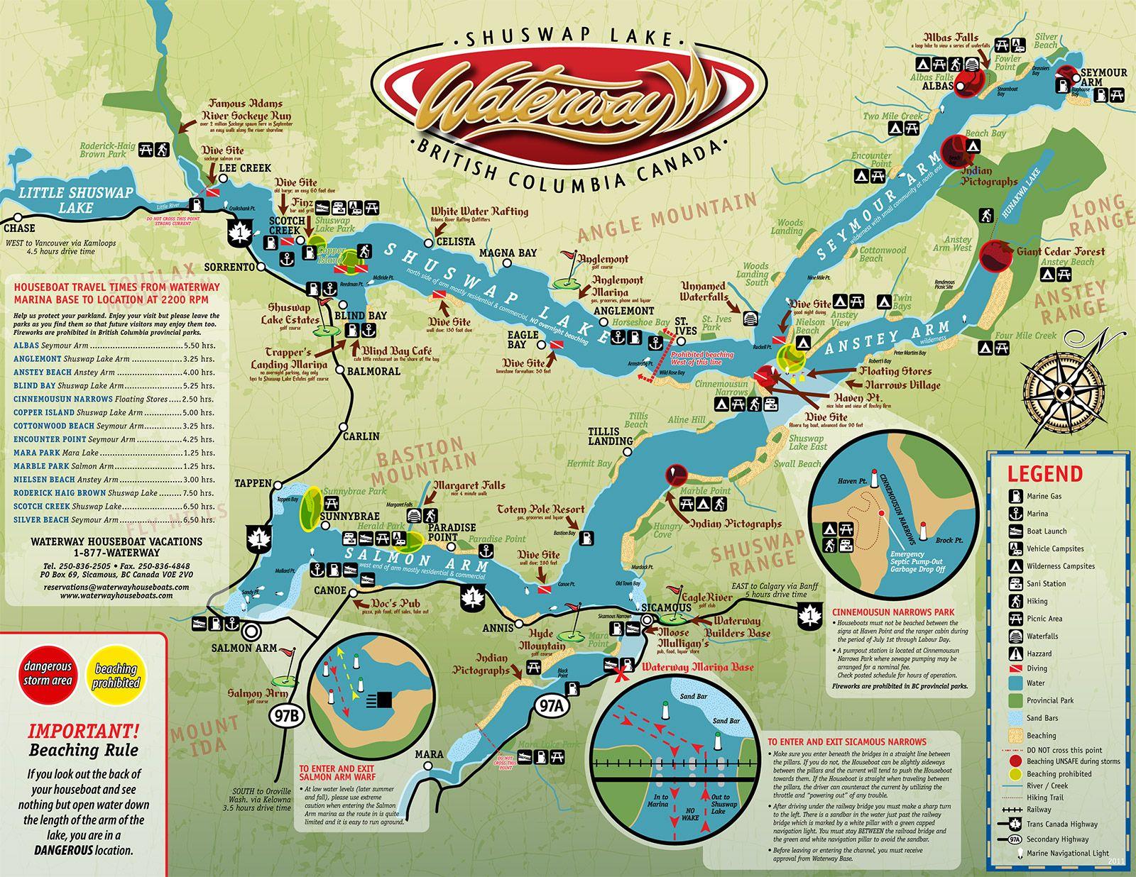 Map Of Shuswap Lake B C Canada Pin by Alexis Kuzmick on Canadian Rockies Trip | Lake map, House