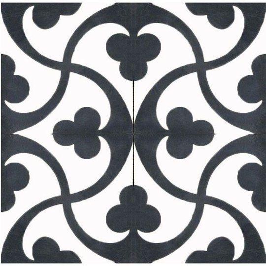 Dramatic Contrast 20 Gorgeous Black Amp White Tile Patterns