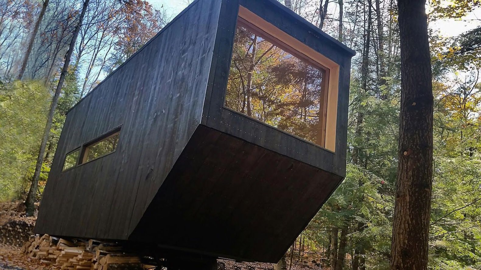 Harvard student startup unveils third tiny house that can be