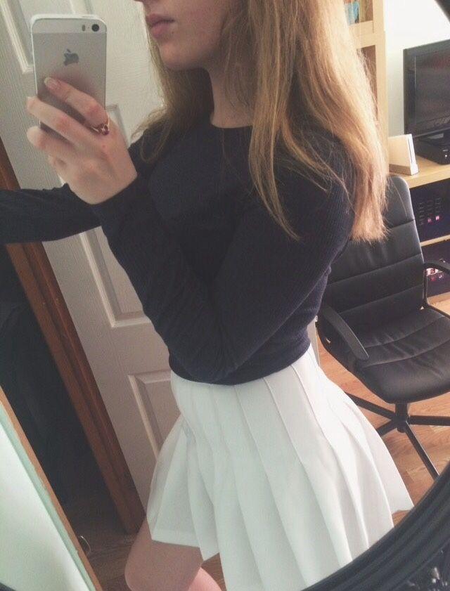 Tennis Skirt Skirt Tumblr Tennis Skirt White Tennis Skirt