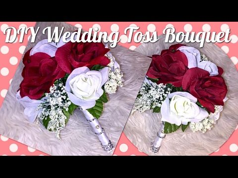 Diy Dollar Tree Wedding Bridal Bouquet How To Make A
