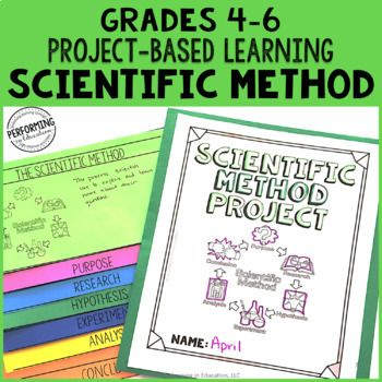 Scientific Method Project-Based Learning 4th 5th 6th Scaffolded