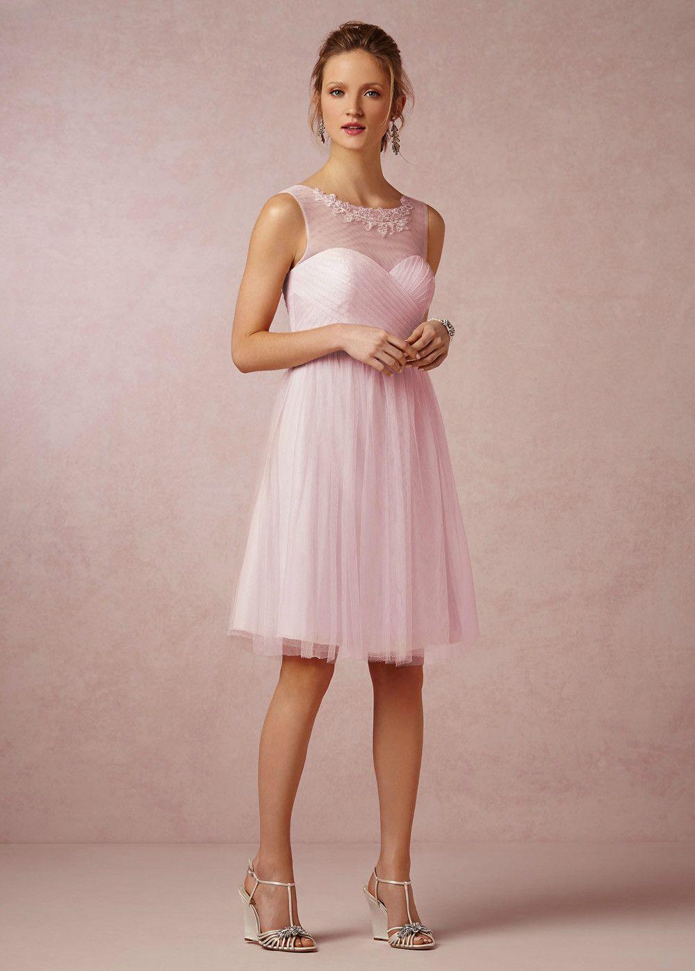 Resultado de imagen para vestidos de largos color rosa cuarzo
