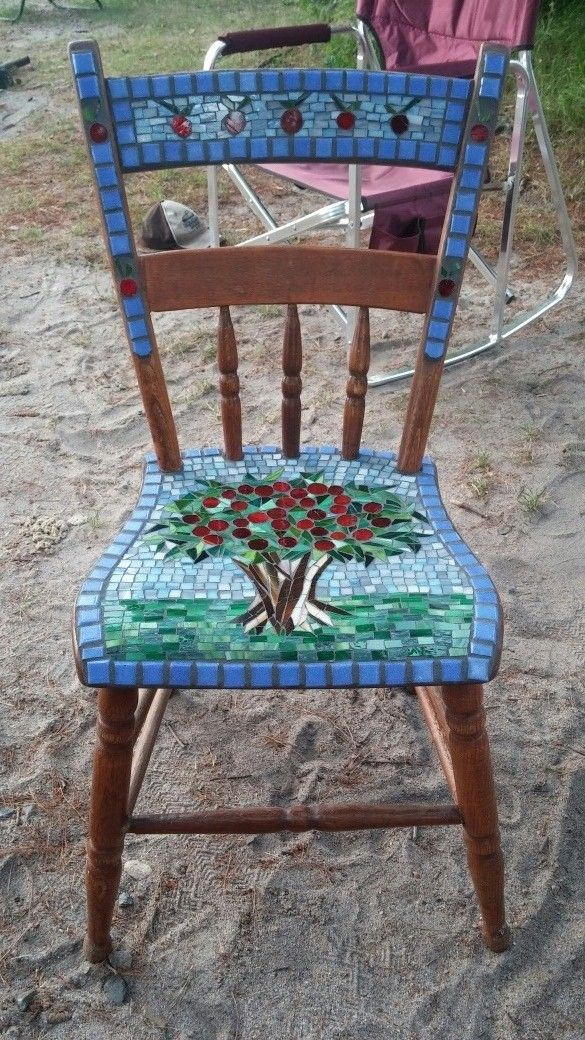 A Chair That I Donated To Chairs With Flair Fundraiser For Bridging In  Minneapolis.