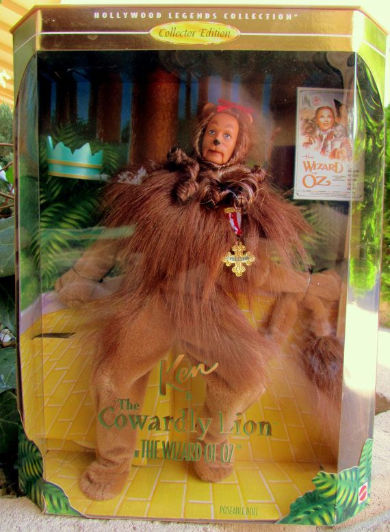 The Wizard Of Oz Cowardly Lion Ken Doll