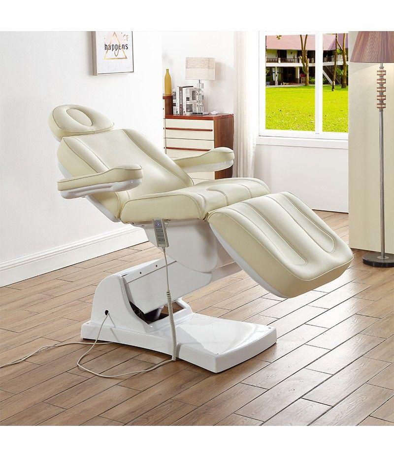 Salon PU face white cosmetic 3 folding electric facial ...