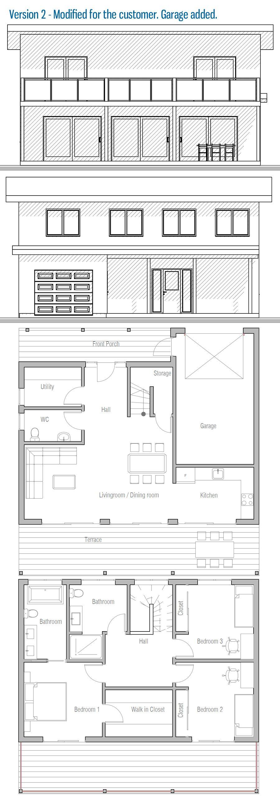 Grundrisse architektur moderne häuser kleine häuser design studios strandhäuser haus design grundrisse behälter