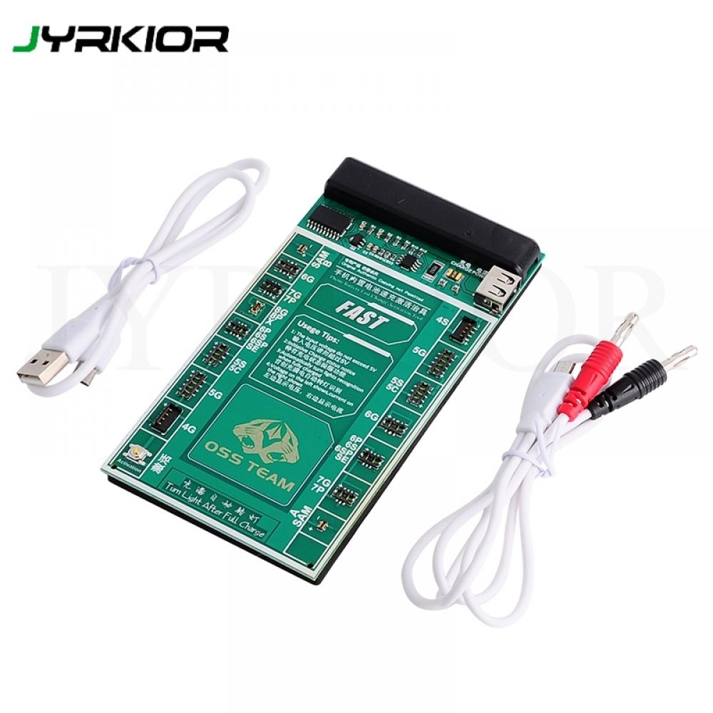 Jyrkior For iPhone 8 8 Plus X XS XR 7P 7 6S 6 5 5S Samsung Battery