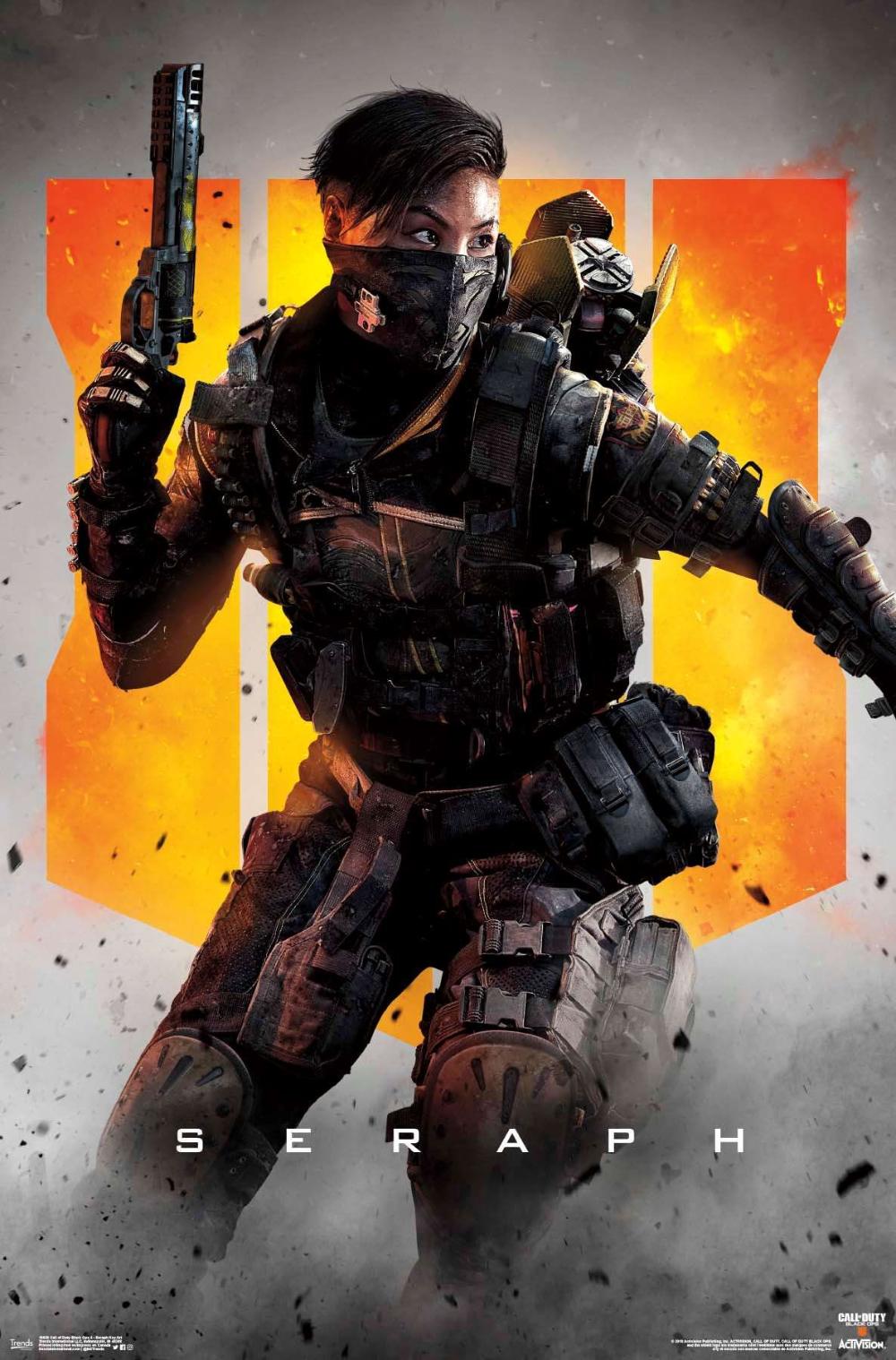Call Of Duty Black Ops 4 Seraph Key Art Fondos De Pantalla De Juegos Fondos De Pantalla Juegos Fondo De Pantalla De Iron Man