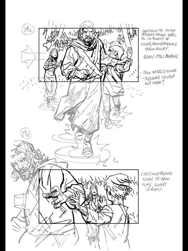 """From """"NOAH Storyboards"""" story by Duncan Fegredo on Storify — http://storify.com/DuncanFegredo/noah-storyboards-1"""