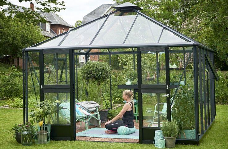 Greenhouse She Shed 22 Awesome Diy Kit Ideas Home Greenhouse Greenhouse Plans Backyard Putting Green