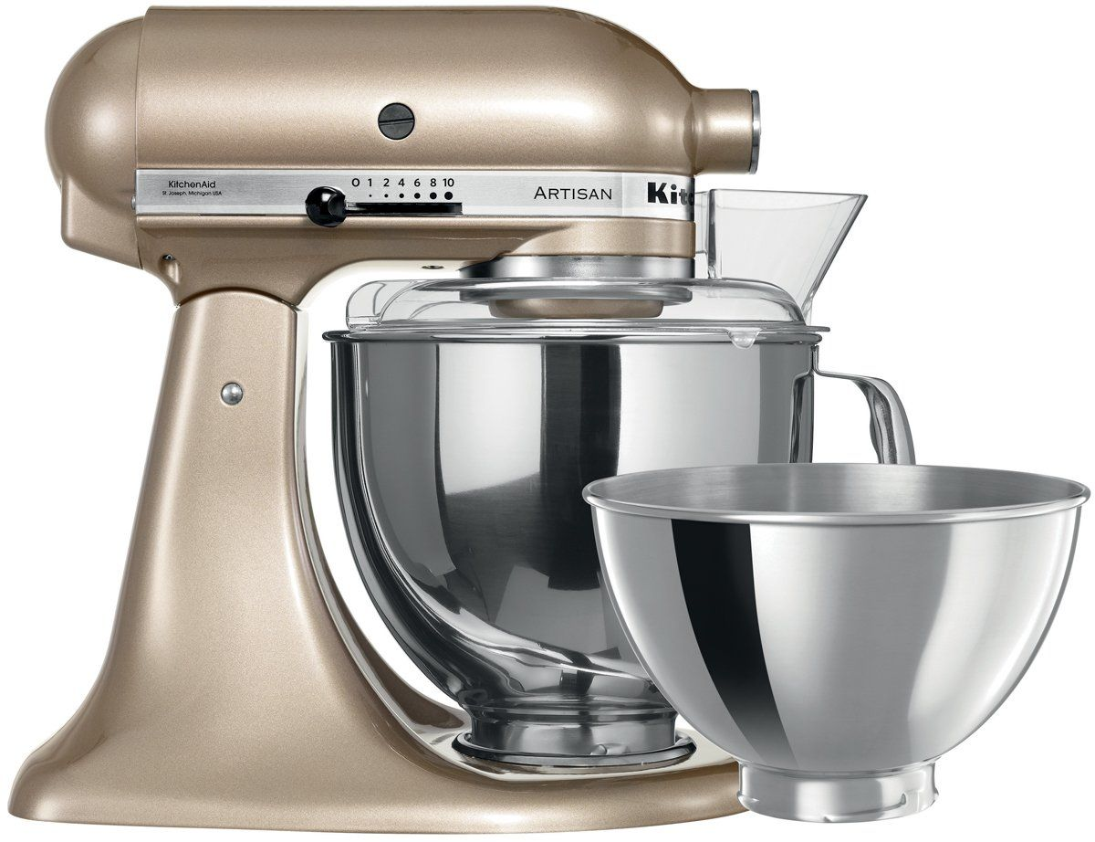 Kitchenaid 5ksm160psacz artisan stand mixer champagne gold