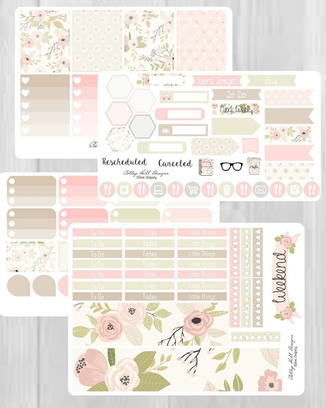 Hello Spring Kit now available in Erin Conden vertical... Happy Planner sizes coming soon! #planner #planneraddict #plannerlove #plannercommunity #plannergirl #plannerobsessed #plannernerd #plannerstuff #plannerstickers #erincondrenlifeplanner #erincondren #ec #eclp #kikkikplanner #kikkik #filofax #spring #summer #floral #weeklykit #stickers #ecvertical #happyplanner by cottagehilldesigns