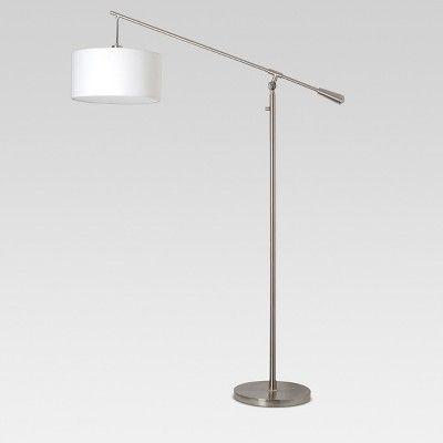 Cantilever Floor Lamp Nickel Threshold Nickel Lamps Floor Lamp Lamp