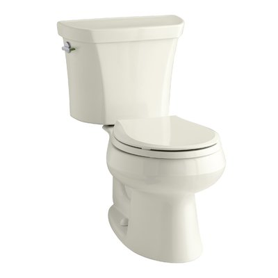 Kohler Wellworth 1 6 Gpf Round Two Piece Toilet Seat Not Included