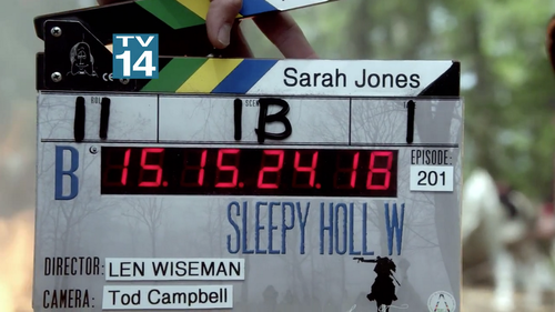 Len Wiseman directed the Premiere ep of Sleepy Hollow Season 2!!