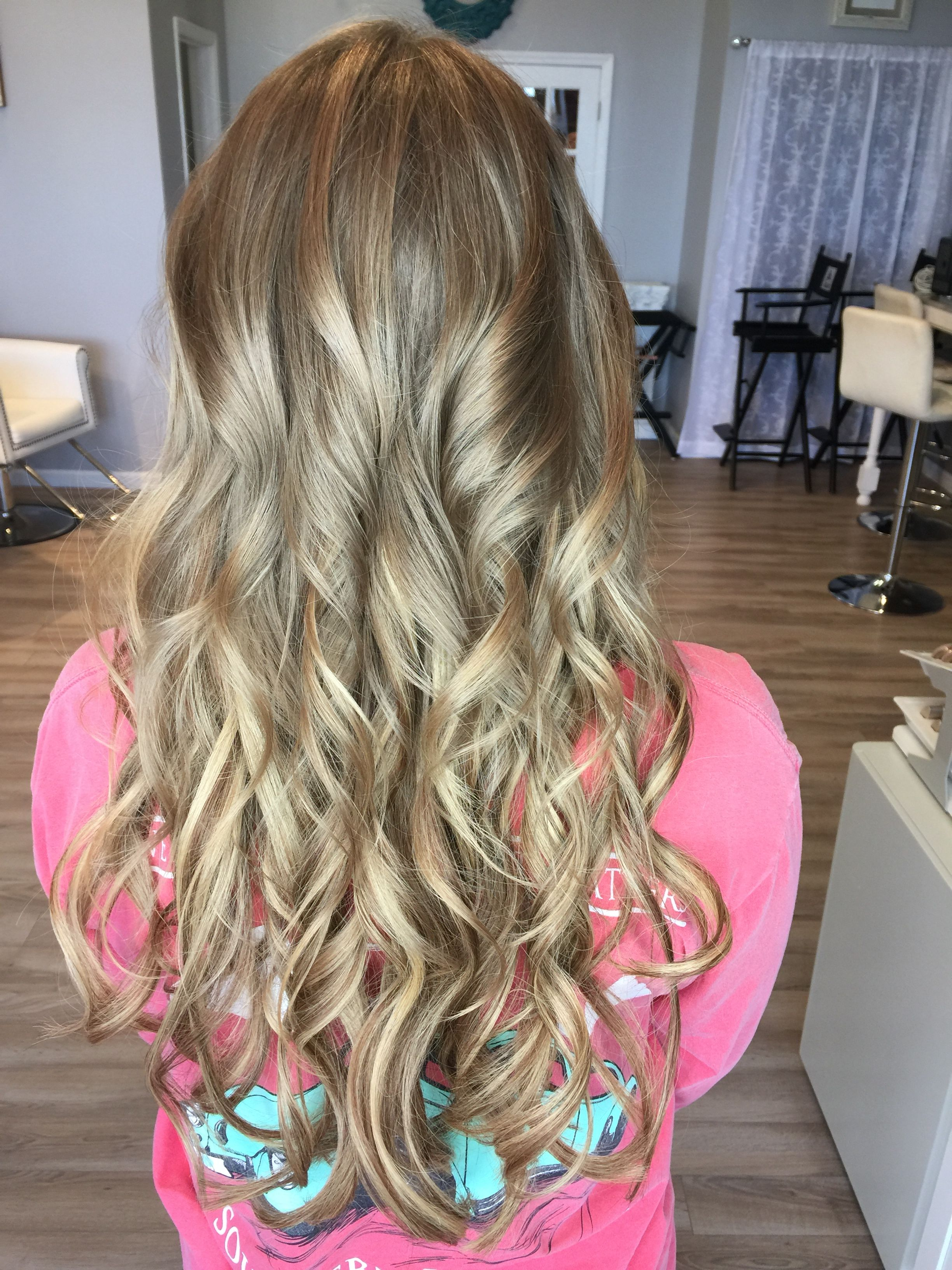 Dirty Blonde Blended Tape In Extensions Long Thick Hair Lusious