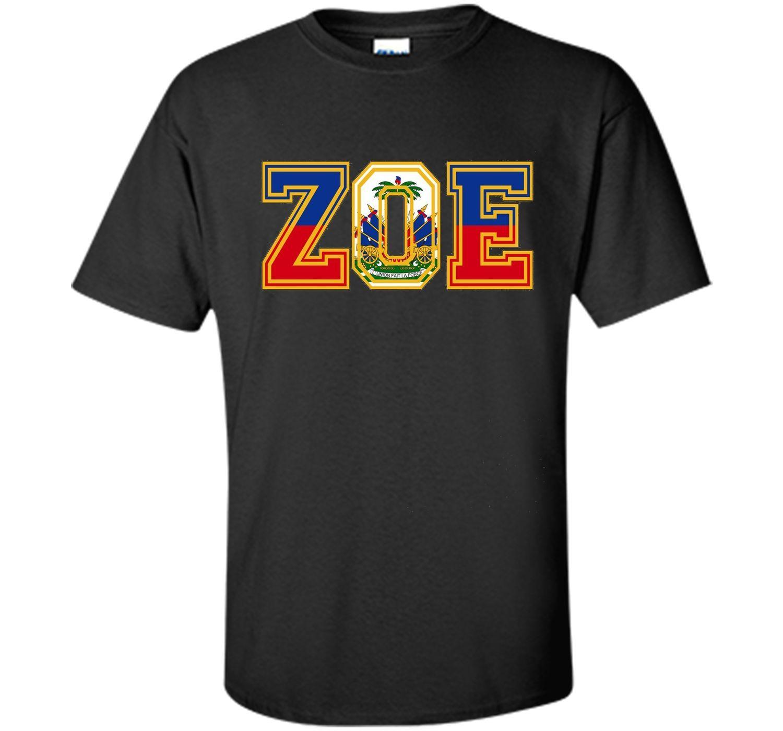Haitian zoe tshirt haitian pride for haitian flag day