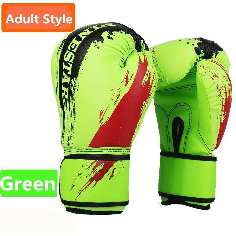 SUTEN Children Flame Mesh Palm Boxing Gloves Professional Sanda Boxing Training