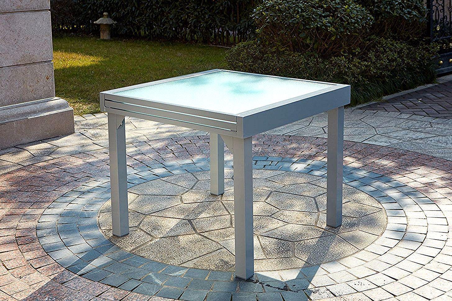 Ikea Table De Jardin Extensible In 2020 Outdoor Ottoman Outdoor