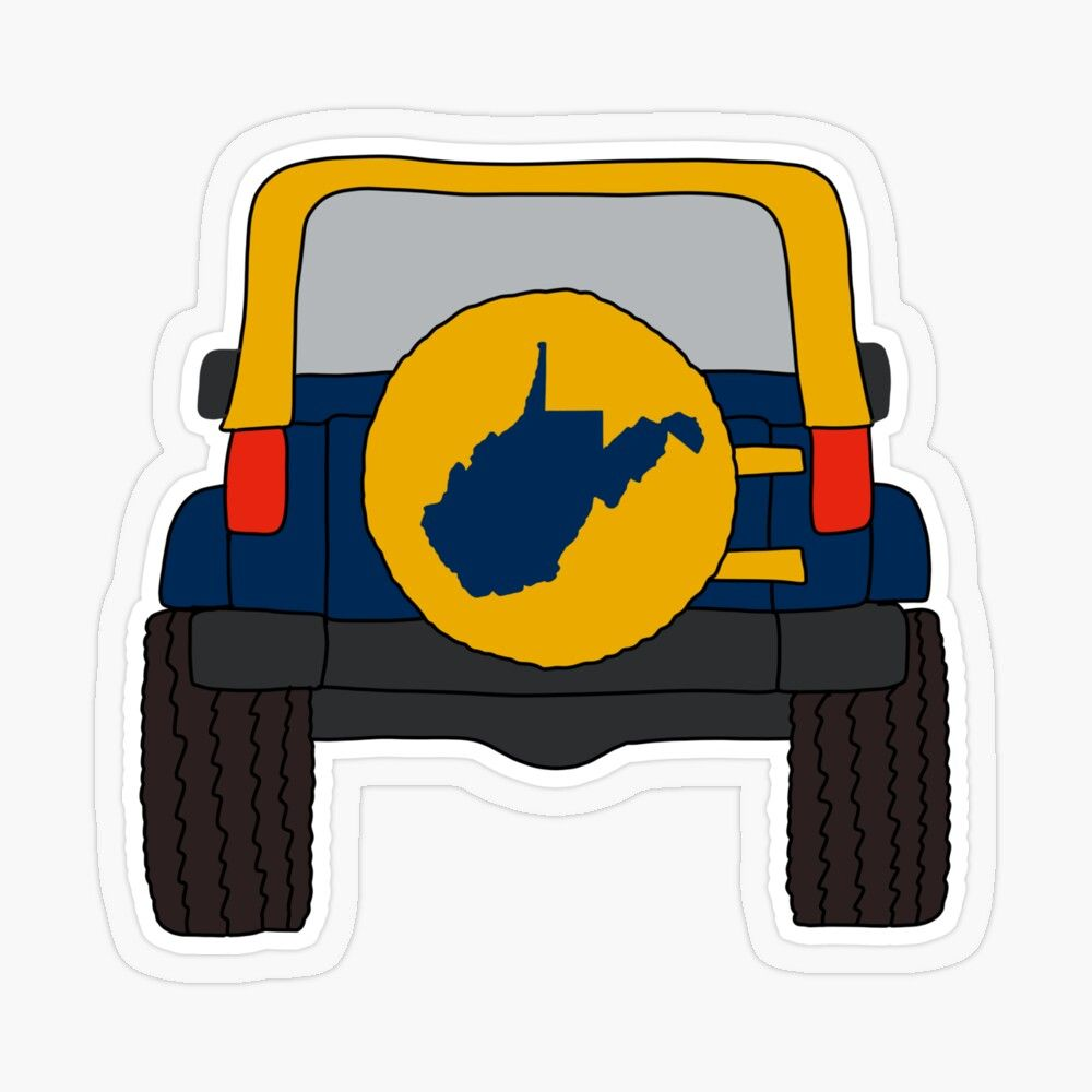 West Virginia Off Road State Map Wv Country Roads Transparent Sticker By Rbaaronmattie In 2021 Map Shirts West Virginia Gift Stickers [ 1000 x 1000 Pixel ]