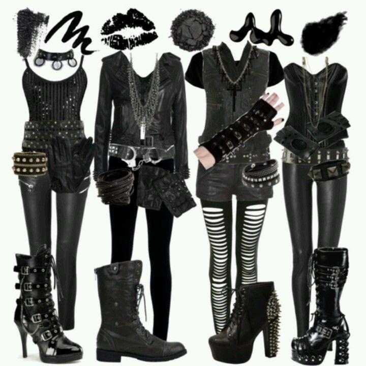 Rock it | Gothic Glam | Tøj, Emo tøj, Emo