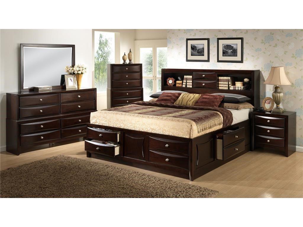 Lifestyle Bedroom Davida Storage Bed King 583932 Furniture