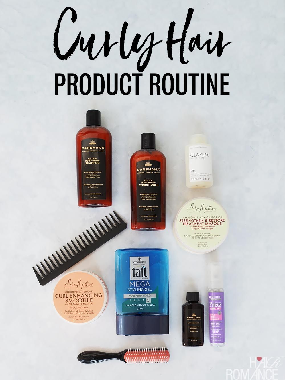My current curly hair routine Curly hair routine, Curly