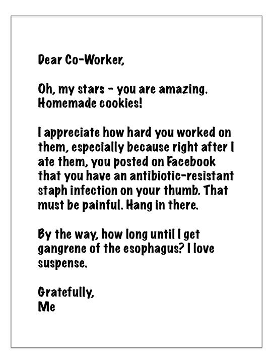 how to write a thank you notewith hilarious samples at the end – Thank You Note for Gift