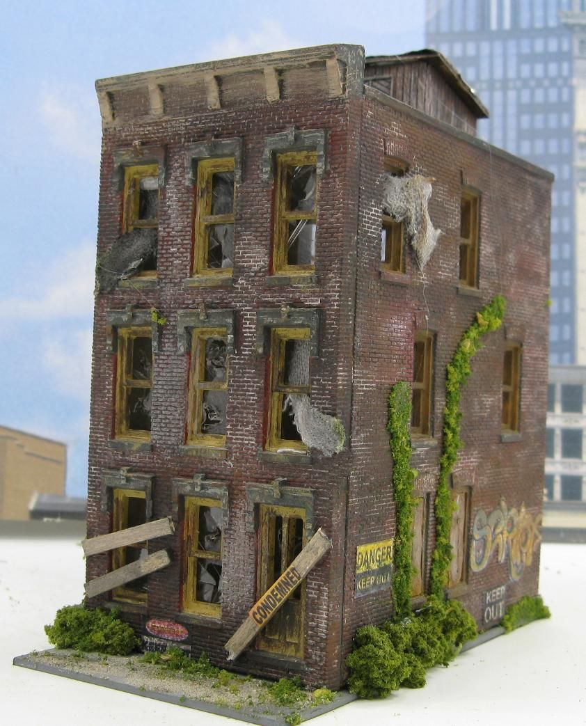 Sold structures model train dioramas and scale for Miniature architecture