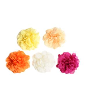 Dress up a ponytail or sweep bangs off to the side with Untamed Petals' Emma Floral clip.