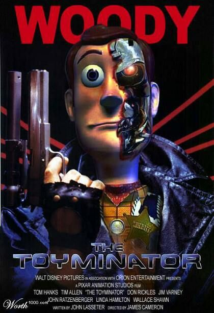 Fake Movie Posters The Toyminator