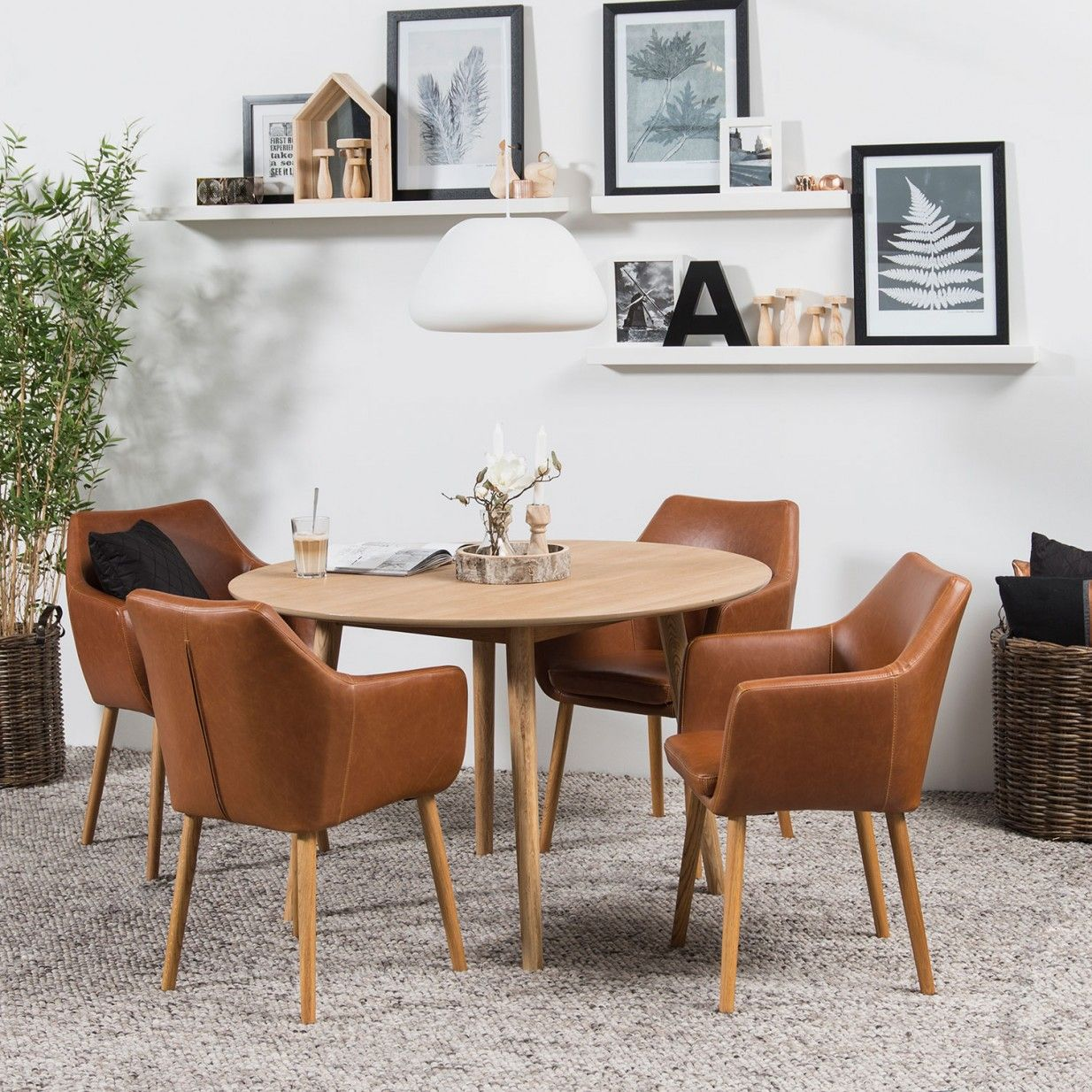 Nora Armchair Idag Monoqi Modern Dining Room Tables Dining