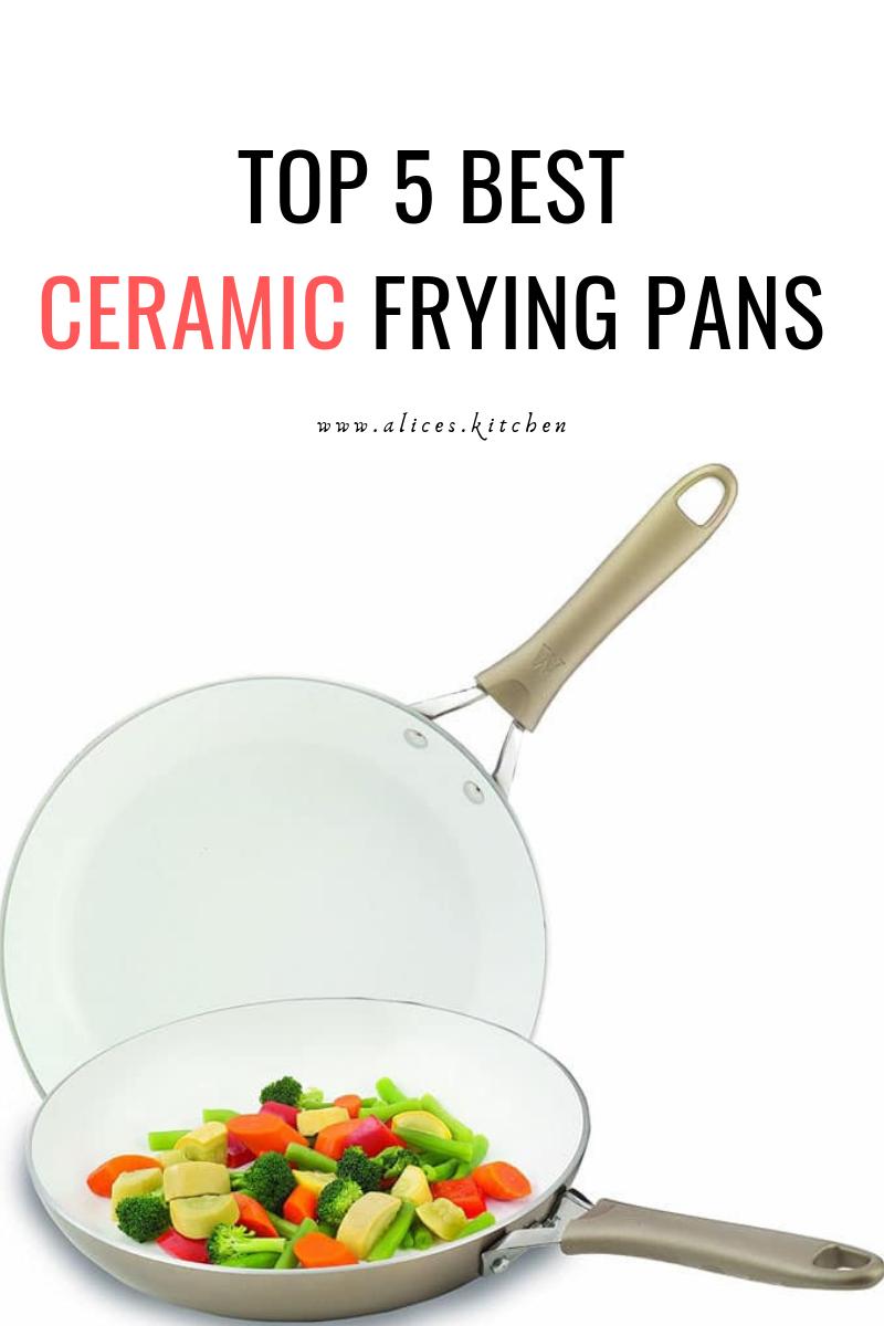 Best Ceramic Frying Pans Ceramic Cookware Frying Pan Ceramics