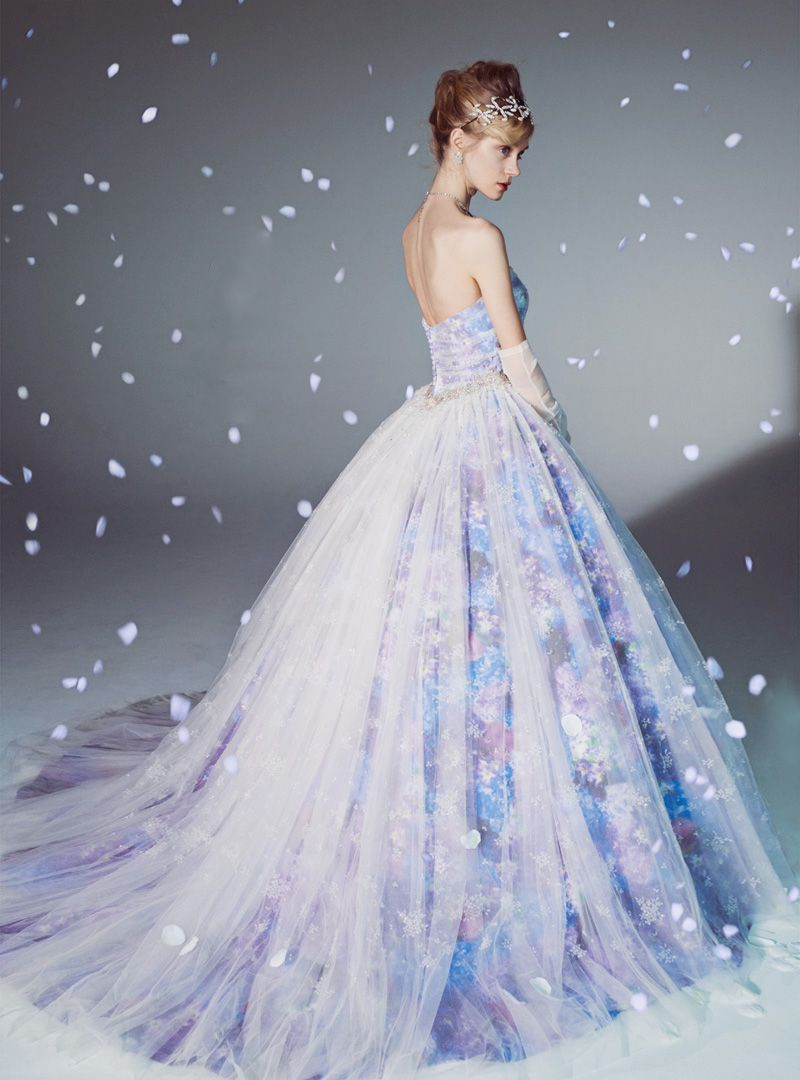Purple dresses to wear to a wedding   Magical Wedding Gowns For the Winter Fairy Tale Bride  Dresses