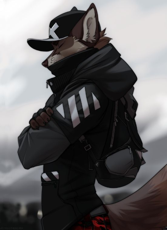 Photo of One of the furry art made by Koul