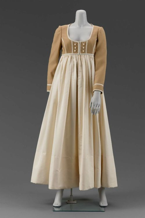Geoffrey Beene, 1968 It reminds me so much of Regency gowns