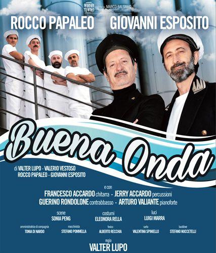 Rocco Papaleo e Giovanni Esposito in Buena Onda spettacolo a Pescara