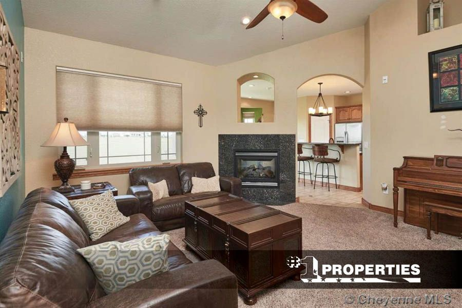 Cozy Fireplace For The Win On This Chilly Morning 12433 Alpine Ranch Road Cheyenne Wyoming Cheyennehomes Reale Cozy Fireplace Fireplace Design Real Estate