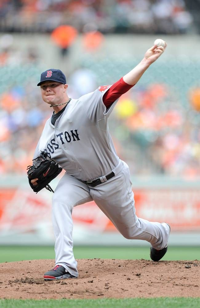 BALTIMORE, MD JULY 28 Jon Lester 31 of the Boston Red