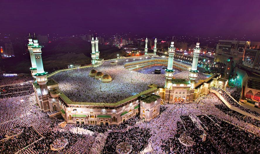 Al Masjid Al Haram The Sacred Mosque So Grand And So Beautiful