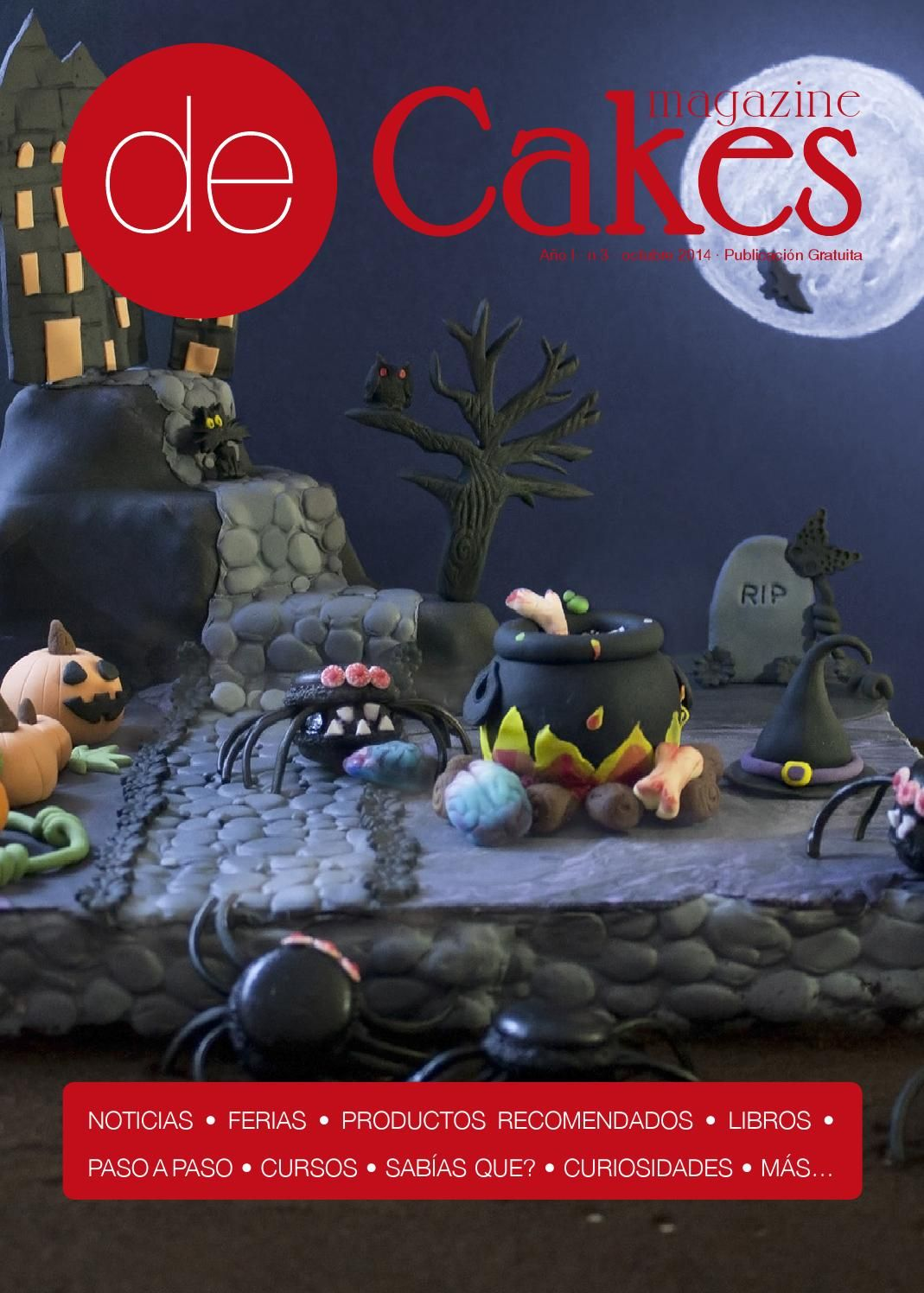 Libro De Reposteria De Cakes 03 Oct2014 Wonderful Books Magazines And