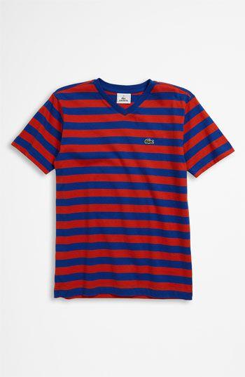 boys lacoste tshirts